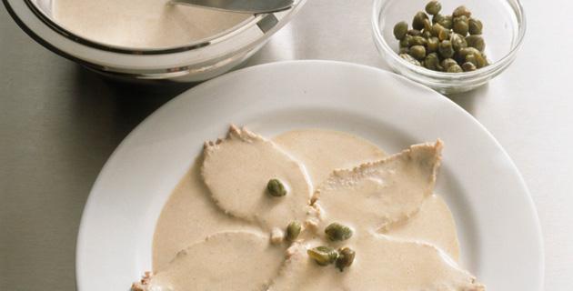 Step-by-Step: Kalbfleisch mit Thunfisch-Sauce