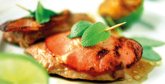 Saltimbocca mit Limetten - leichte mediterrane Küche - Feinschmecker.com