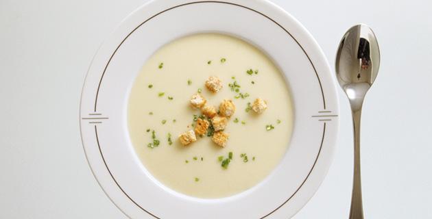 Vichyssoise – die kalte Kartoffel-Lauch Suppe