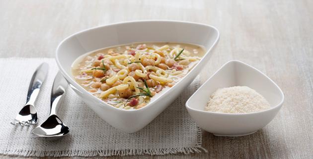 Zuppa di ceci e patate – Kichererbsensuppe