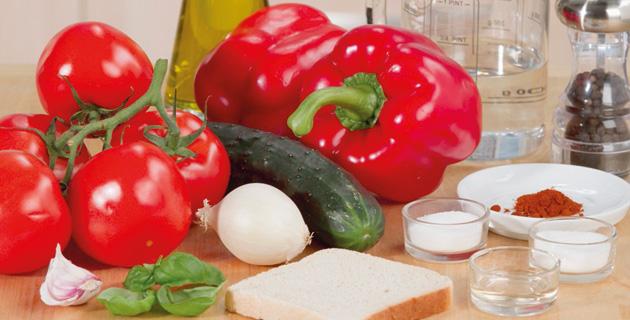 Step-by-Step: Gazpacho selbst zubereiten