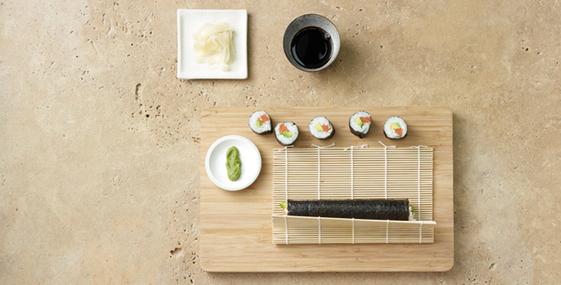 Step-by-Step: Original Maki-Sushi