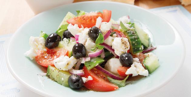 Griechischer Salat – einfach und schnell zubereitet