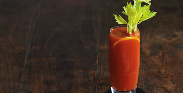 Bloody Mary – traditionell mit Staudensellerie