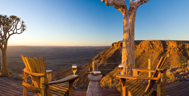 Die Fish River Canyon Lodge – Am Rande der Ewigkeit