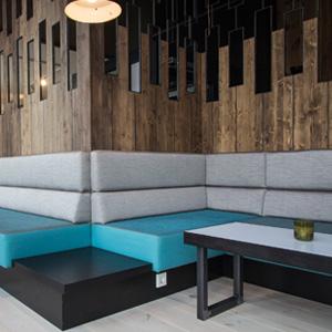Der Lounge-Bereich des Miomatto