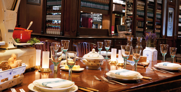 Brasserie Desbrosses – lokales Gemüse im Ritz