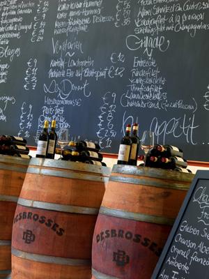 Die Brasserie Desbrosses - rustikal mit französischem Charme