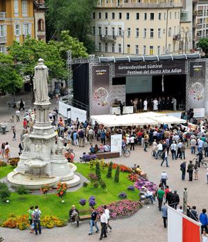Das Genussfestival in der schönen Bozener Altstadt