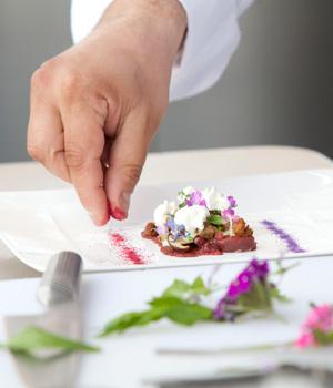 Köstliche Gerichte werden eigens für das Festival kreiert