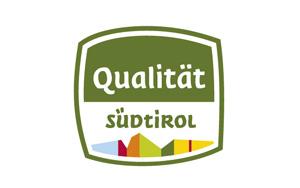 Produkte mit dem Qualitätszeichen Südtirol werden mit diesem Siegel gekennzeichnet