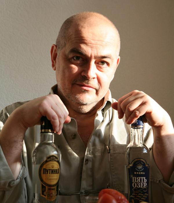 Wodka gehört in Russland einfach dazu