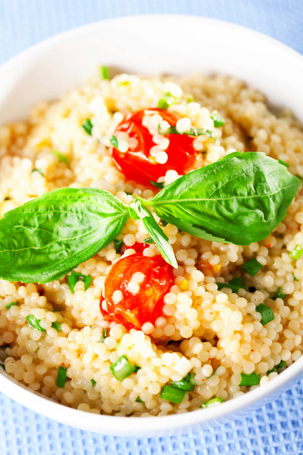 Couscous-Salat als willkommene Abwechslung