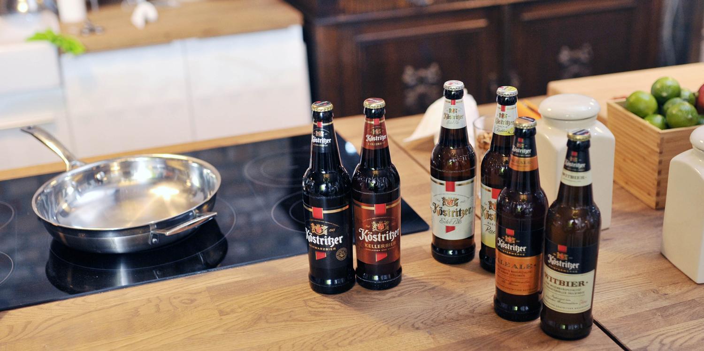 Kochen mit Bier – exquisite Rezepte mit edlem Bräu