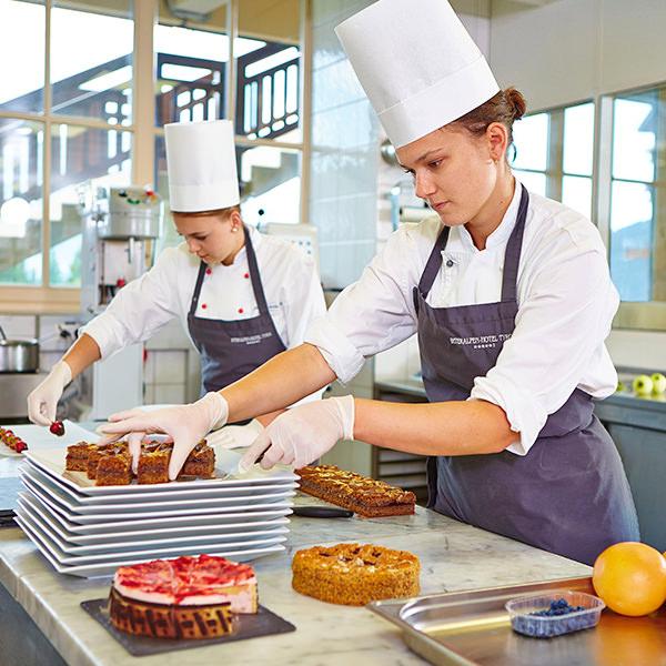Die Pâtisserie des Interalpen Tyrol