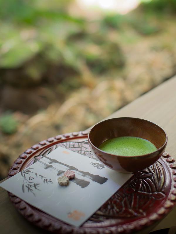 Traditionell war das Matcha-Trinken dem Adel vorbehalten