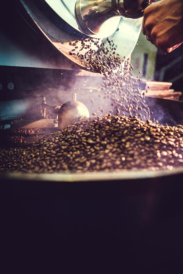 Die Kaffeeröstung spielt für den späteren Genuss eine entscheidende Rolle
