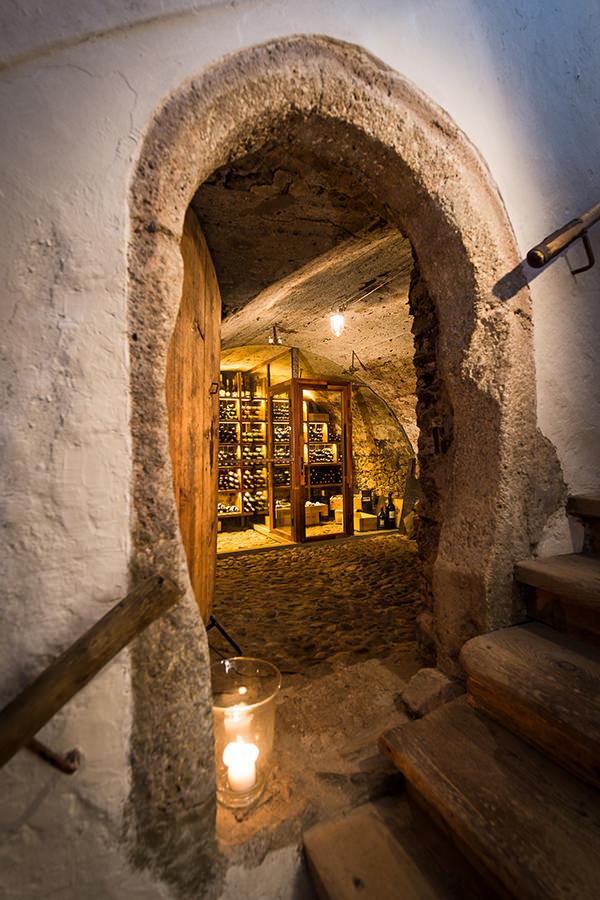 Die Pforten zum Weinkeller