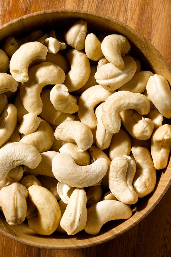 Cashewnüsse sind ein wichtiger Magnesium- und Eiweisslieferant