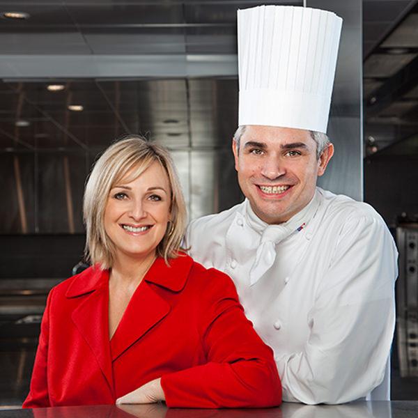 Benoît Violier – Küchenchef im Hôtel de Ville mit seiner Frau Brigitte
