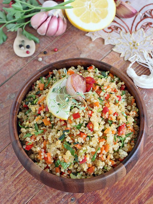 Foodtrend 2015 - Quinoasalat und alles was sonst noch mit dem Superfood zu tun hat