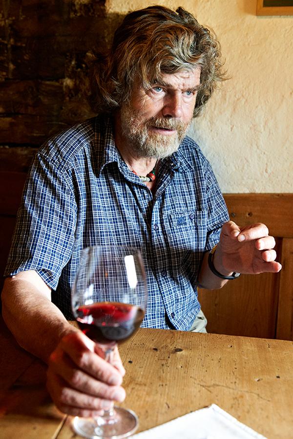 Messner kennt Verzicht - und weiss vielleicht aus diesem Grund Genuss besonders zu schätzen