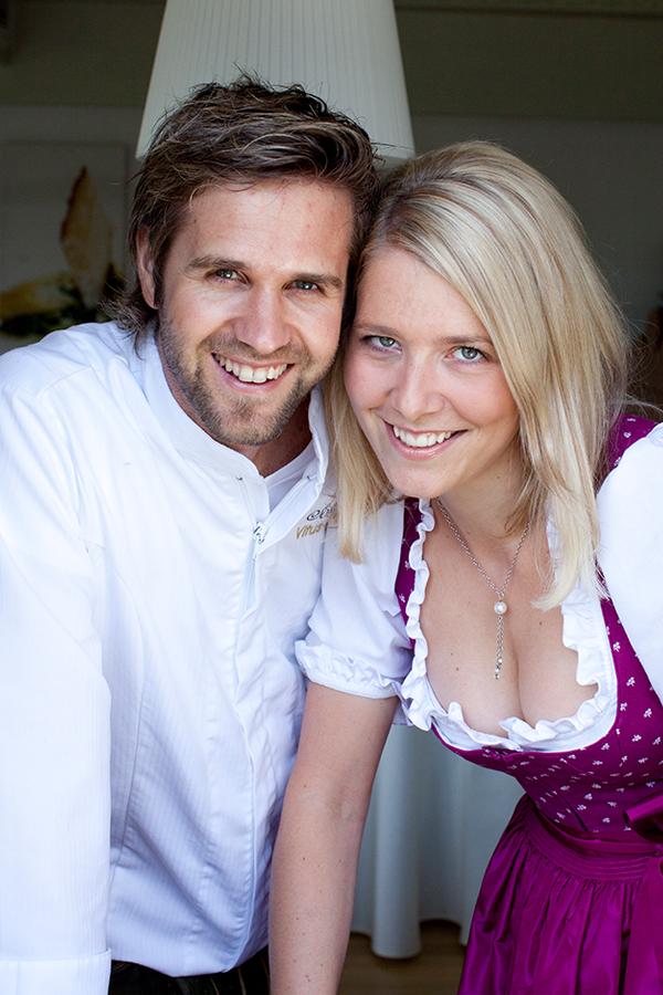 Vitus Winkler mit seiner Freundin Eva-Maria