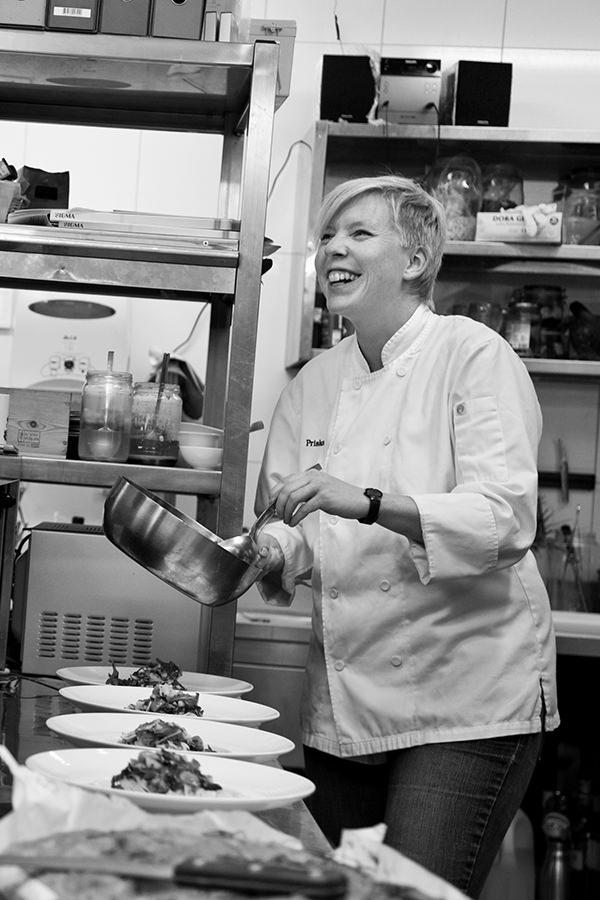 Priska Thuring: Das Kochen ist ihr Leben