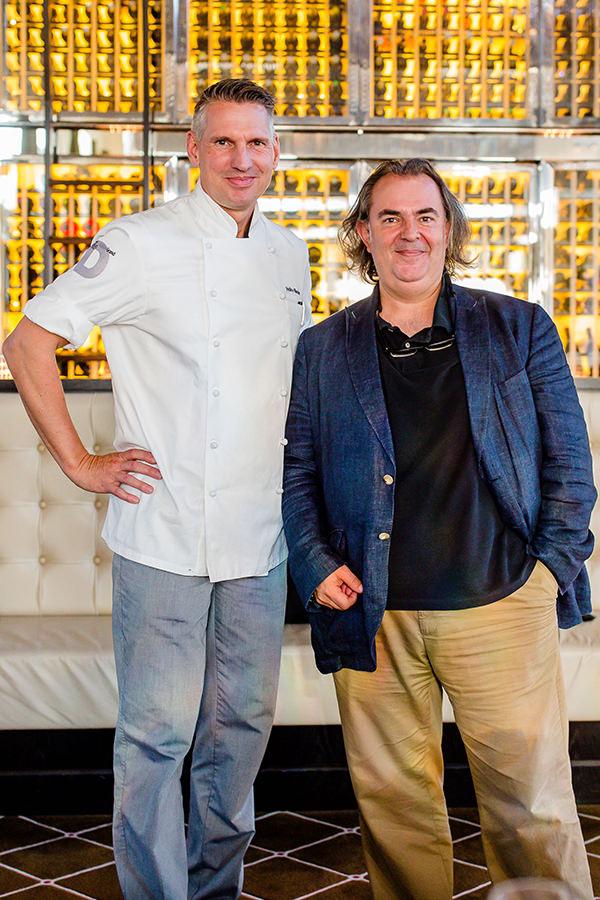 Luis Gutiérrez und Heiko Nieder auf dem Food-Event