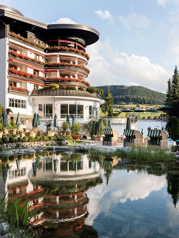 Aussenansicht Hotel Bareiss