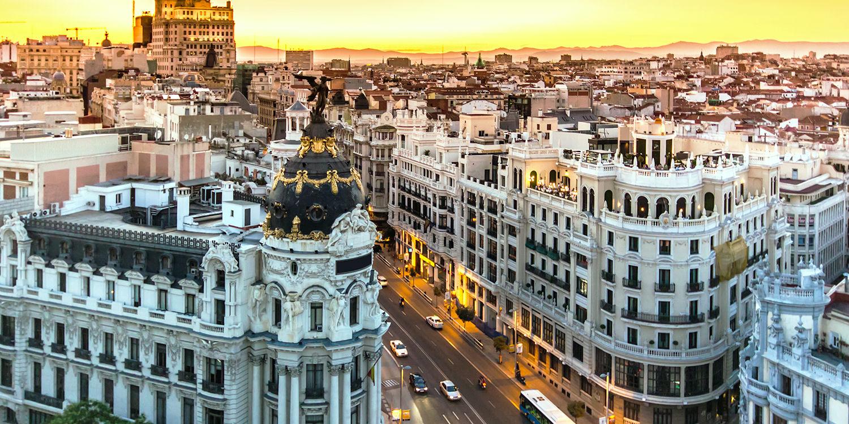 Späte Abendessen und lange Nächte in Madrid