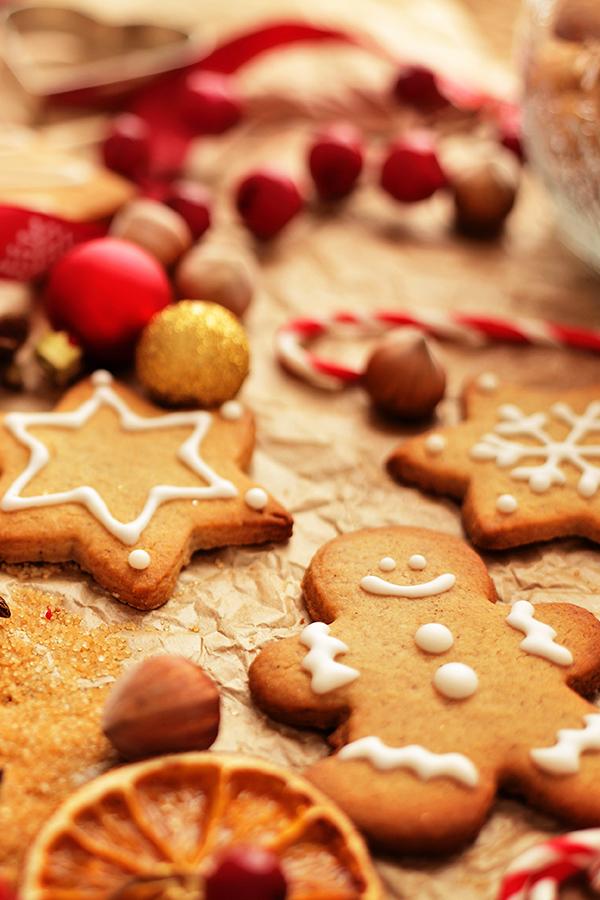 In der Weihnachtsbäckerei gibt es manche Leckerei