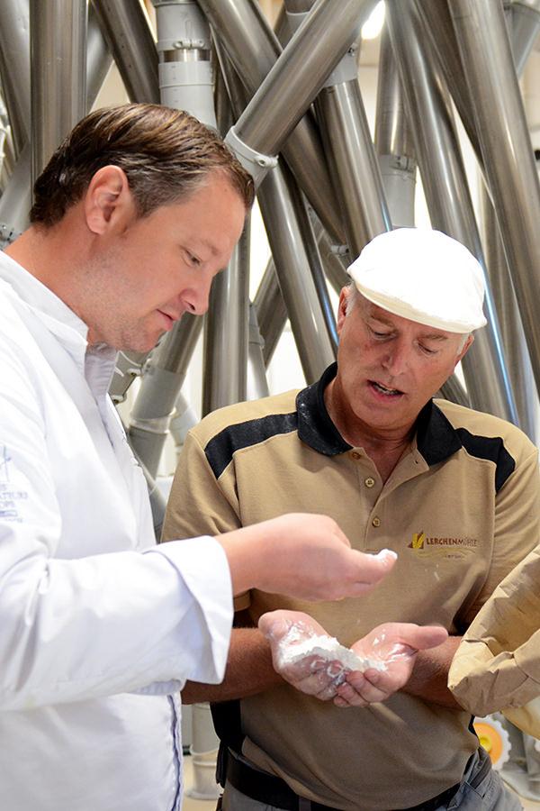 Gerhard Wieser - Freund und Getreide-Partner
