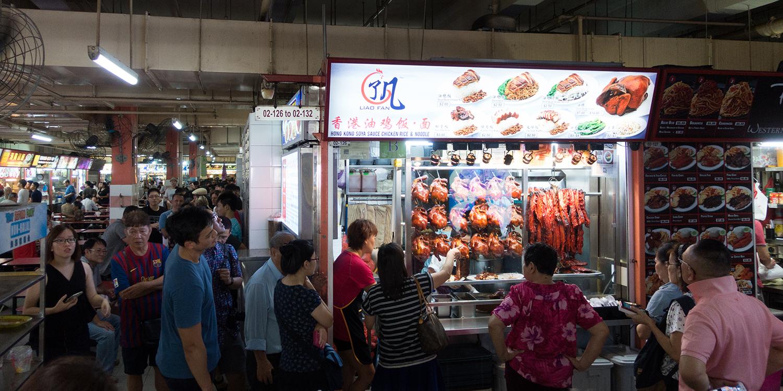 Auf den Stern gekommen: Streetfood in Singapur