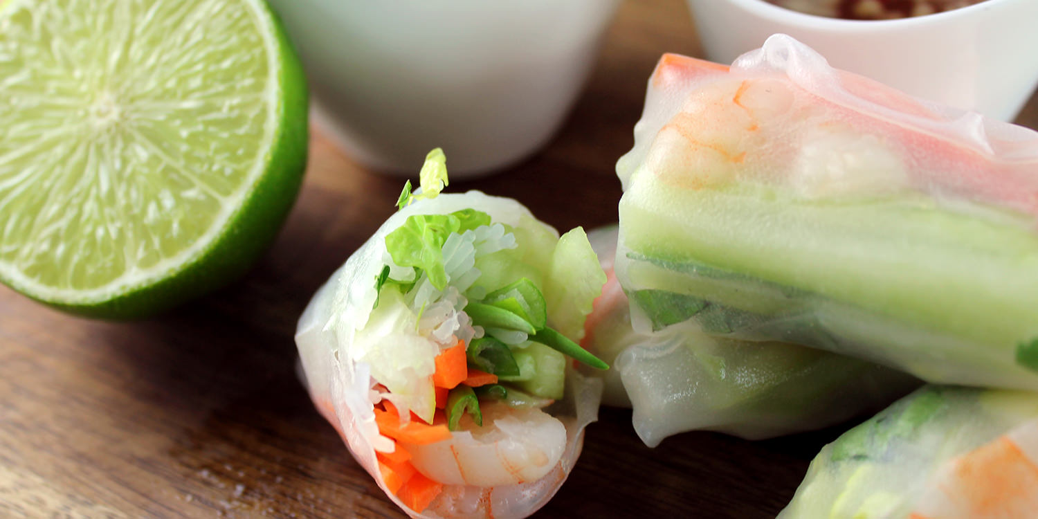 Step-by-Step: Summer Rolls mit Nuoc Mam Pha