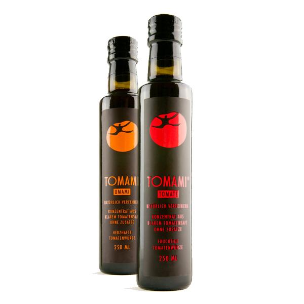 Würzige Saucen aus 100 % Tomaten